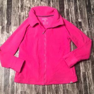 Pink Calvin Klein Performance jacket
